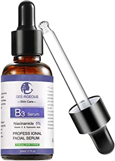 jinjijn Anti Ageing Anti Wrinkle Serum Moisturizer Anti Aging Anti Wrinkle Liquid Lift Facial Serum Cream Vitamin B3 S (Purple)