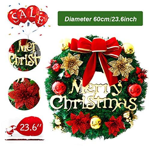 60cm Corona de Navidad Puerta...