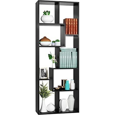 8 Cube Bookshelf Rack Bookcase Storage Shelving Stand Display Book Shelves~USA