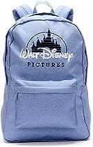 Disney Store Pale Denim Blue Disney Pictures Backpack
