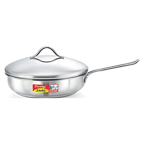 Prestige Xclusive Alpha Fry Pan with Lid, 240 mm
