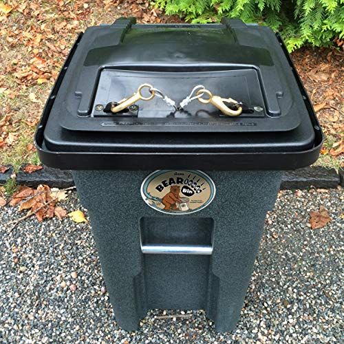 32Gallon Bearicuda Classic Bear-Resistant Garbage Can Cart