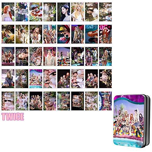 DaiWeiPeng1991 Kpop Twice MORE&MORE Fotokarte Fotobuch Poster Lomo Karten Geschenkkarte Aufkleber(Style 10)