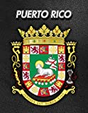 Puerto Rico: Coat of Arms | Weekly Calendar July 2019 - December 2021 | 30 Months | 131 pages 8.5 x 11 in. | Planner | Diary | Organizer | Agenda | Appointment | To-Do Soft Cover