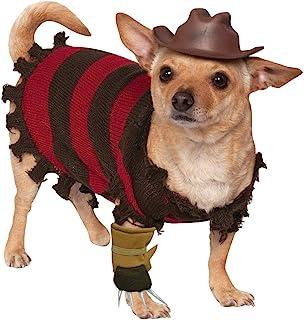 Rubie's A Nightmare on Elm Street Freddy Krueger Pet Costume, Small