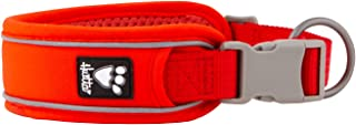 Hurtta Weekend Warrior ECO Dog Collar, Rosehip, 10-14 in