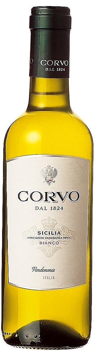 想定する人気の頑固なコルヴォ?ビアンコ 375ml [イタリア/白ワイン/辛口/ミディアムボディ/1本]