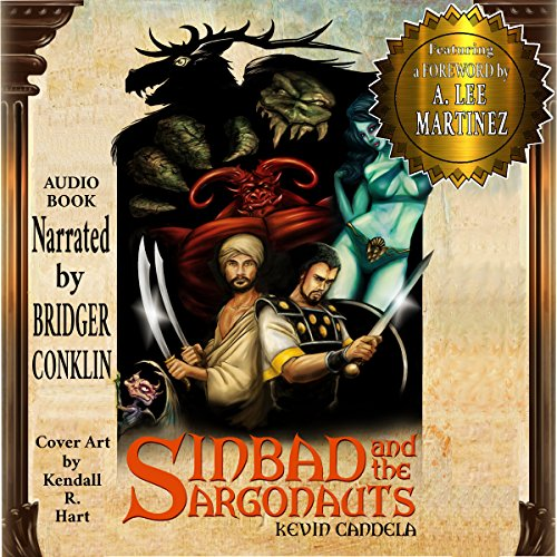 Sinbad and the Argonauts Audiobook By Kevin Candela cover art