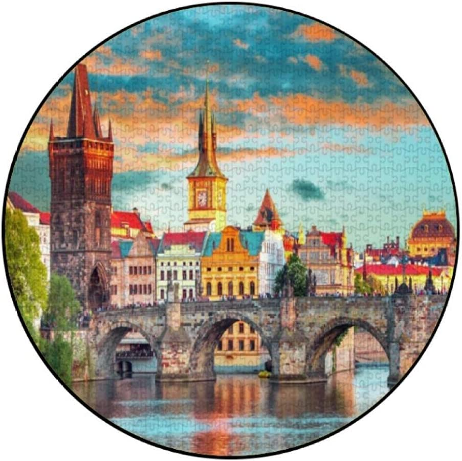 Jigsaw Puzzle Limited time Max 60% OFF trial price 1000 Piece Puzzles Prague Adults Dreamy Large for