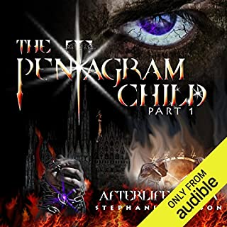 The Pentagram Child audiobook cover art