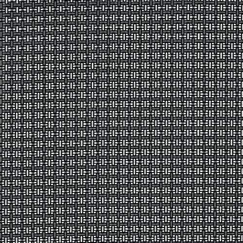 Tenax 1A140305TexStyle VIP Valla de ocultación Brise Vue Antracita/Plata, PVC 500,0x 0,1x 100,0cm