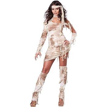 Disfraz de momia egipcia para mujer: Amazon.es: Juguetes y juegos
