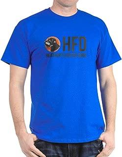 HFD Grey/Pink T-Shirt Classic 100% Cotton T-Shirt