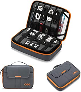 3-Layer Travel Cable Organizer Electronics Accessories Case Bag