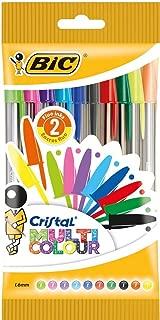 BIC 20 Cristal Multicolour Pen - Assorted 10 bolígrafos