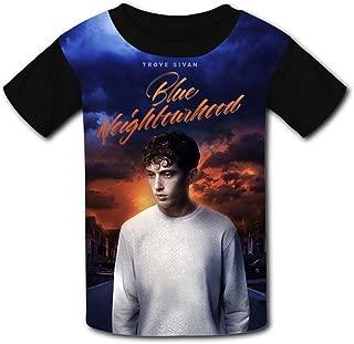 QIANBAIHUI Kids Youth Magic-Troyer-Sivan 3D Printed O-Neck T-Shirt Tees