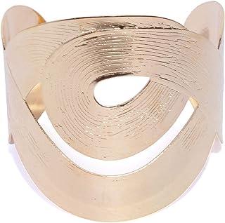 Prita Gold-Plated Cuff Bracelet for Girls & Women