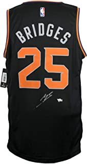 Autographed Mikal Bridges Jersey - Black Fast Break Fanatics Fanatics - Fanatics Authentic Certified