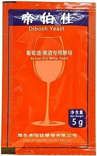 dewdropy Levure De Vin Universal 5g - Complexe De Vin Aromatique - Levure + Nutriment + Enzymes - Levures De Brassage Mais...