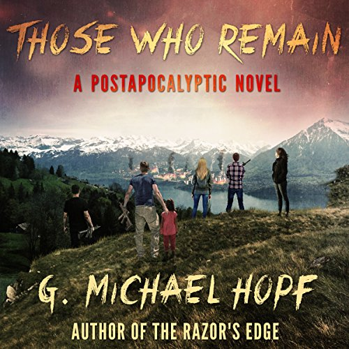 Those Who Remain audiobook cover art