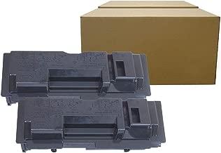 Inktoneram Compatible Toner Cartridges Replacement for Kyocera-Mita TK-18 TK18 FS-1118MFP KM-1815 KM-1820 CS-1820 FS-1018MFP FS-1020D (Black, 2-Pack)