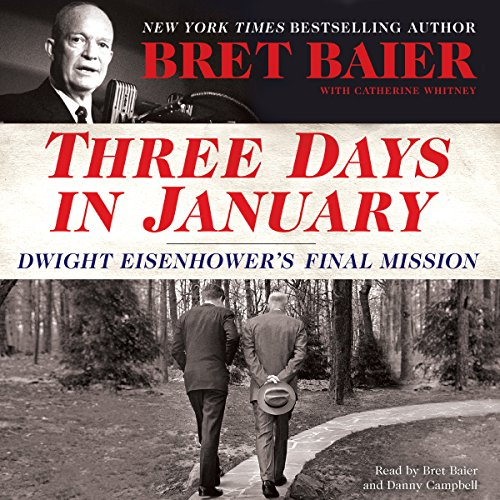Three Days in January audiobook cover art