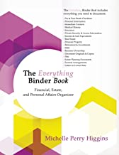 The Everything Binder Book: Financial, Estate, and Personal Affairs Organizer