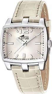 Lotus 39 to 49 euros Mens Analog Quartz Watch with Leather bracelet 15877/6