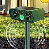 Katzenschreck Ultraschall Solar, Wasserdichte Garden Katzenschreck Utraschall Tiervertreiber mit...