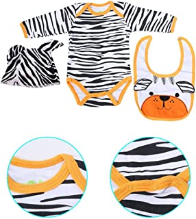 Voluxe Cute Doll Clothes, Excellent Craftsmanship Smooth Firmer Bear Pattern Doll Clothes, Shiny Great Texture for Childre...