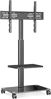 FITUEYES TV Trolley TV Stand met wielen TV Stand Swivel base In hoogte verstelbare 32 tot 65 inch LED LCD TV Plasma TT2065...