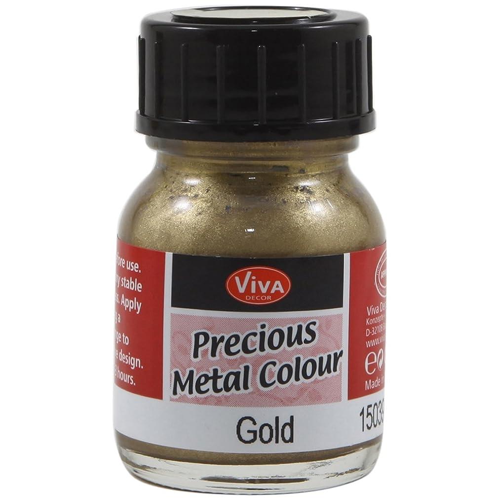 Viva Decor .8-Ounce Gold Precious Metal Liquid Color
