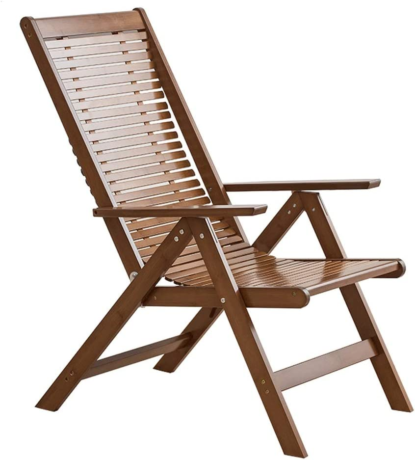 Inventory cleanup selling sale XIAOSAKU Indoor Folding Chair Eas Bamboo Recliner New sales
