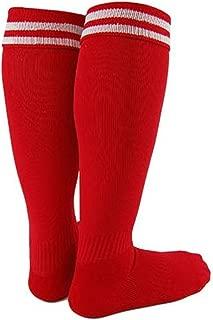 Boy and Girl 1 Pair Knee High Sports Socks for Baseball/Soccer