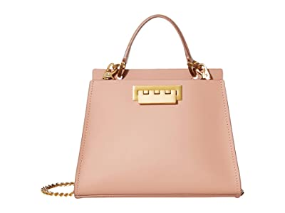 ZAC Zac Posen Earthette Double Compartment Mini Crossbody (Rose) Cross Body Handbags
