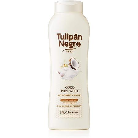 Tulipán Negro Gel de Baño Coco Pure White, 720 Mililitros