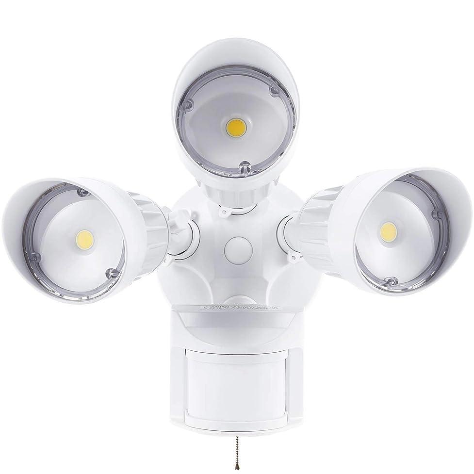 シートフェデレーション接続YC 12W×3灯 LEDセンサーライト フリーアーム式 高輝度 5000lm 36W 防雨型 IP65 防水 防犯ライト センサーライト led 人感センサー ライト 屋外 防犯グッズ 玄関 倉庫照明 50000H 2年保証