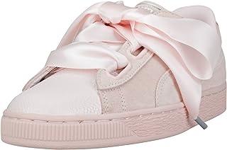 Puma Women Suede Heart Bubble Wn S Leather Sneakers