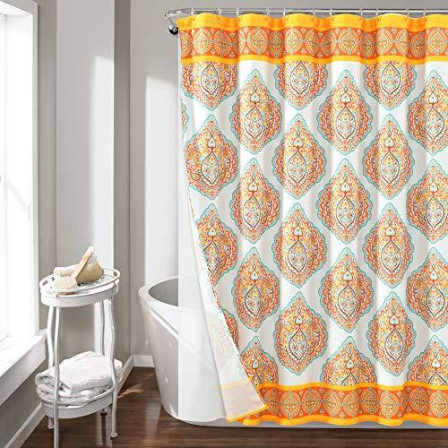 Lush Decor Harley Polyester Shower Curtain,