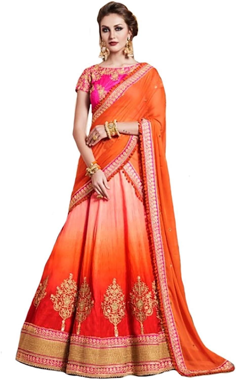 Bridal Bollywood Chaniya Choli Dupatta Party Wedding Wear Women Ceremony Dandiya Festival By BALAJI Emporium
