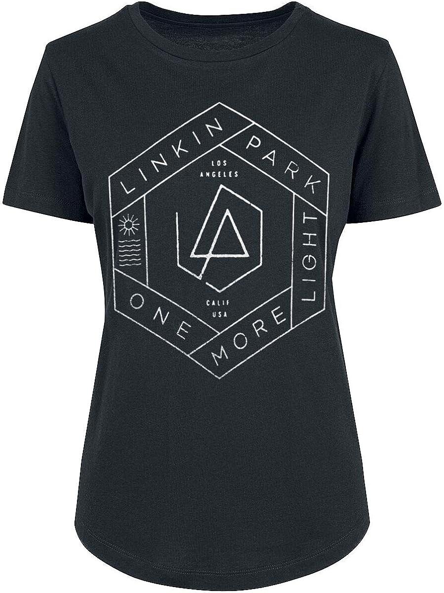 Linkin Park One More Light Frauen T-Shirt schwarz Band-Merch Bands