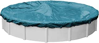Pool Mate 5818-4 Guardian Winter Round Above-Ground Pool Cover, 18-ft, Teal Blue