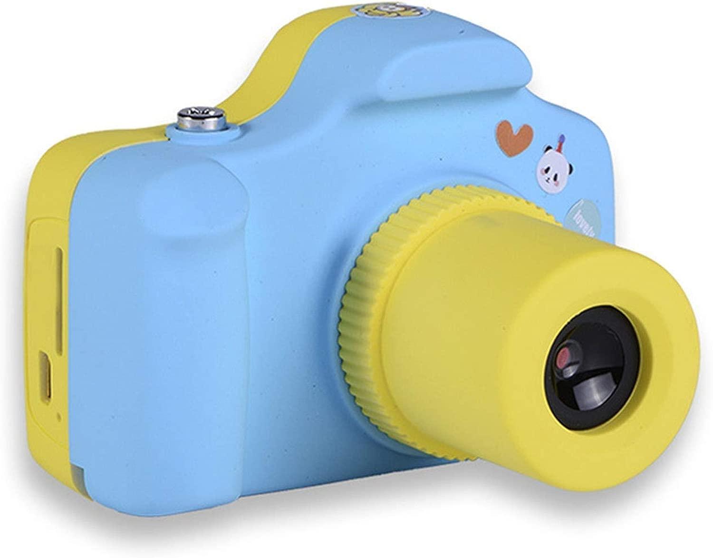 KJRJKD Videotelecamera Digitale for Bambini Videotelecamera Digitale for Bambini 1080P FHD for Regalo for Ragazze da 3 a 10 Anni (Coloree   blu)