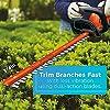 BLACK+DECKER 40V MAX Cordless Hedge Trimmer, 24-Inch (LHT2436) #3