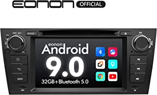 Car Stereo Eonon 9 Inch Single Din Car Stereo, Android 9.0 Car Radio, 32GB ROM GPS Navigation for Car Support Apple Car Play Android Auto/Bluetooth 5.0/WiFi/Fast Boot/DVR/Backup Camera/OBDII-GA9365