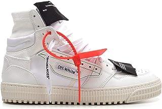 OFF-WHITE Luxury Fashion Mens OMIA065R208000010100 White Hi Top Sneakers   Spring Summer 20