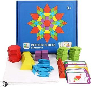 155ピース、クリエイティブ、パズル、MG15、子供、早期教育、パズルボード、様々な、幾何学的形状、ジグソーパズル