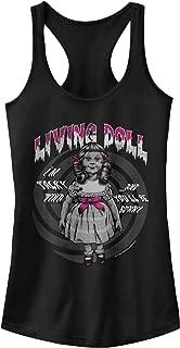 The Twilight Zone Juniors' Living Doll Episode Racerback Tank Top