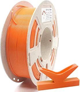 RepRapper 1kg 低反り ABS 3Dプリンターフィラメント 1.75mm オレンジ + 印刷ビルド表面 + ノズル洗浄針