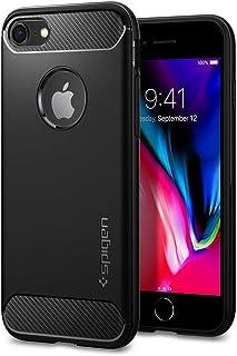 Spigen Rugged Armor Designed for Apple iPhone 8 Case (2017) / Designed for iPhone 7 Case (2016) - Black